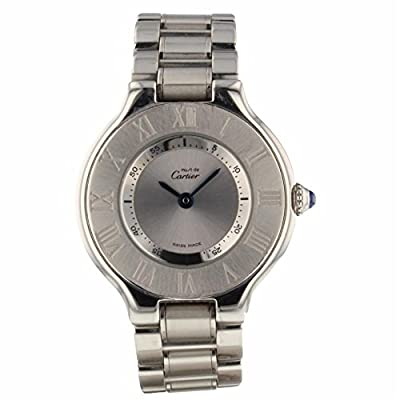 Cartier Must 21 Quartz Female Watch 1340 (Certified Pre-Owned) by Cartier