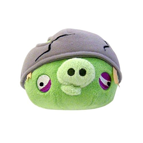 """Angry Birds 12"""" Helmet Pig Plush Officially Licensed"""