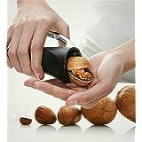 European Nut Cracker,Heavy Duty Nuts Sheller,Nutcracker,Aluminum Kitchen Plier,Pecan Walnuts Hazelnut Opener,Nut Hand Grip