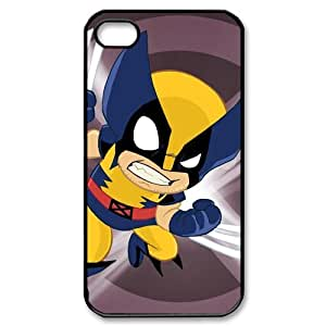 X-Men Wolverine Custom Printed Design Durable Case Cover for Iphone 4 4S