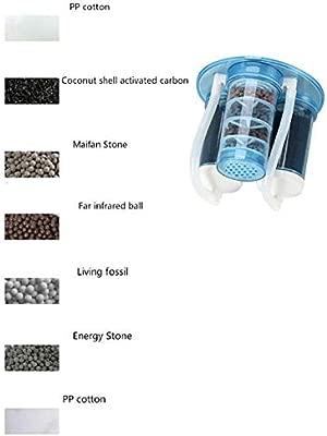 8,8L Cubo 500W Filtro de purificación de siete capas ...