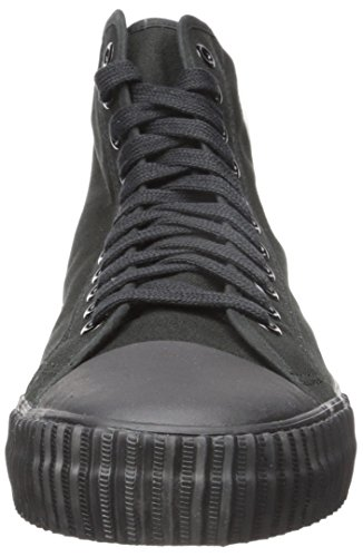 PF Flyers Men's Core Hi Black Canvas Sneaker 17 D (M)