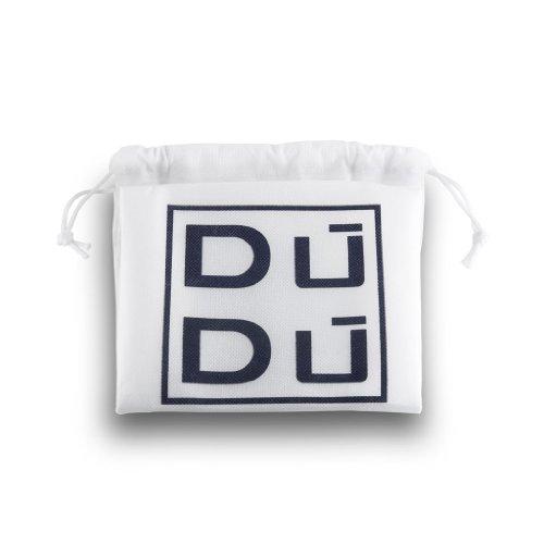Dokumententasche in multicolor Leder iPad Fach von DuDu Blau