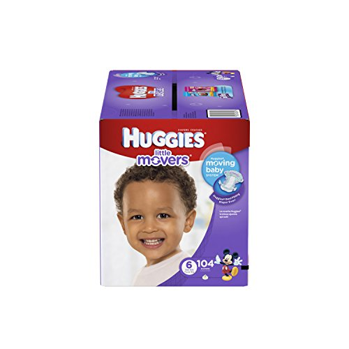 Huggies Little Movers Diapers Economy