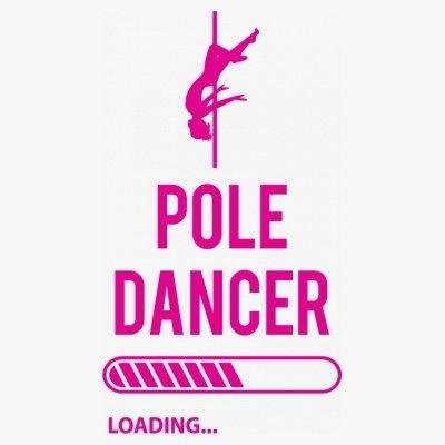 Sudadera con capucha de mujer Pole Dancer Loading by Shirtcity Blanco