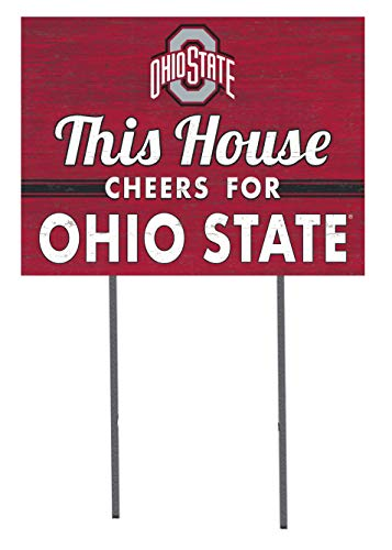 KH Sports Fan 18x24 Lawn Sign Ohio State