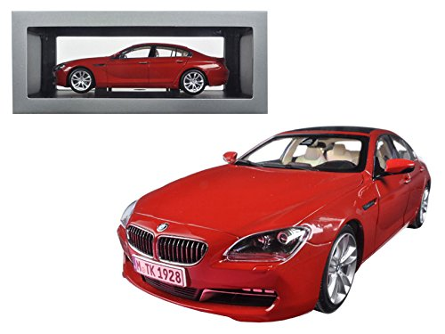 Maisto BMW 650i Gran Coupe 6 Series F06 Melbourne Red 1/18 Model Car by Paragon