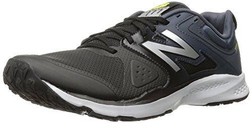 New Balance Mens 777v2 Training Shoe, Negro/Gris, 44.5 EU/10 UK
