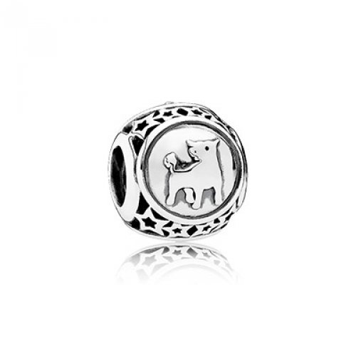 PANDORA 791937 Taurus Star Sign Charm