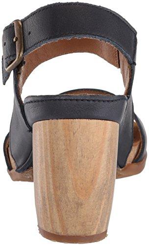 El Naturalista Women's N5020 Dolce Ocean/Kuna Heeled Sandal, Varies Ocean