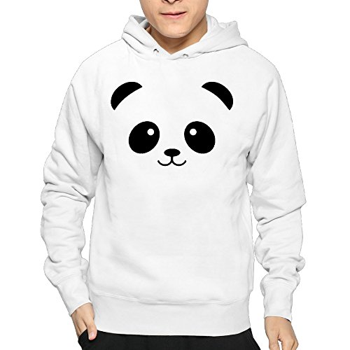 Price comparison product image Men's Panda Glitter Hoodie Sweatshirt Funny Pullover
