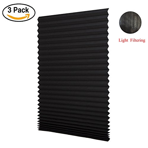 LUCKUP Cordless Filtering Pleated Install product image