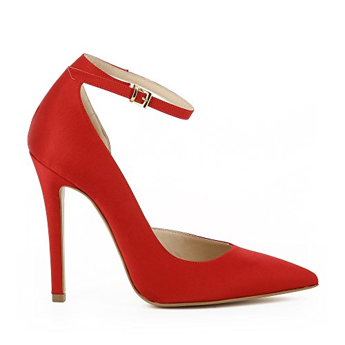 Shoes Evita Red's Textile Pumps Red Lisa Sqq7OxdTw