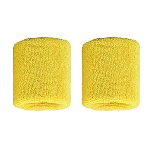 Lovelysunshiny 1 par de brazaletes de algodó n Puro para Hombres, Mujeres, muñ equeras, muñ equeras para Tenis Deportivo muñequeras muñequeras para Tenis Deportivo
