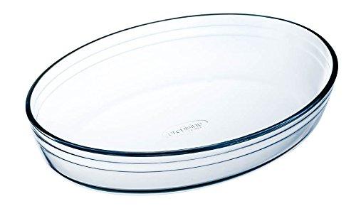 Arcuisine Borosilicate Glass Oval Roaster 9.85 Inches International Cookware OCUISINE VIDRIO 25 Centimeter
