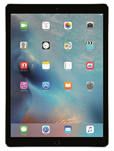Apple ML0N2LL/A 12.9- Inches 128 GB, Wi-Fi iPad Pro (Space Gray)