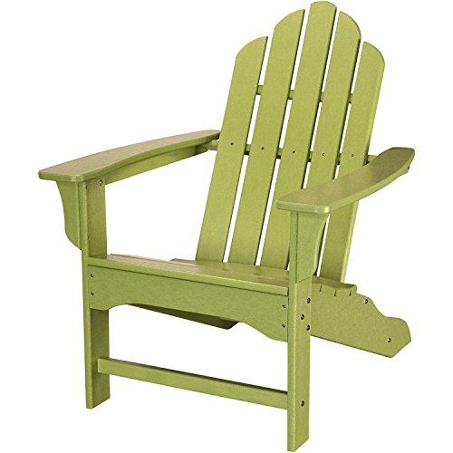 Hanover HVLNA10LI All-Weather Adirondack Chair Lime