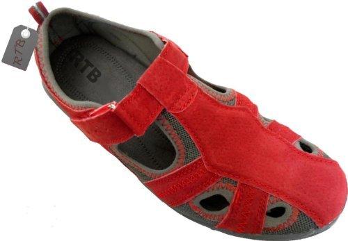 RTB - Sandalias de Vestir Mujer Rojo - rojo