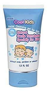 Cool Kids Facial Cleansing Gel (1.2 FL OZ) Gentle facial cleanser specialty for kids .