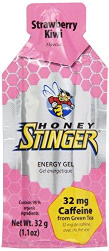 Honey Stinger Energy Gel, Strawberry Kiwi, 1.1 Ounce (Pack of 24)