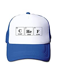 Cool Chef Periodic Table Adult Mesh Trucker Hat Cap