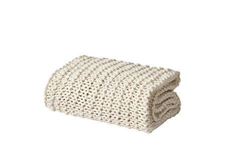 Five Queens Court Leon Chunky Knit Soft Throw, ()