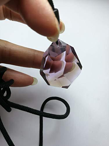 - Rare Bolivia Ametrine Amethyst Citrine Crystal Quartz Pendant 1.45 inch Spiritual Reiki Healing