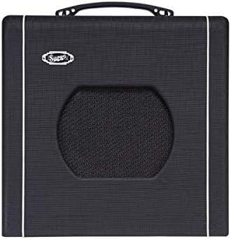 "Supro Blues King 8 1-Watt 1x8"" Tube Guitar Combo Amplifier: Musical Instruments - Amazon.com"