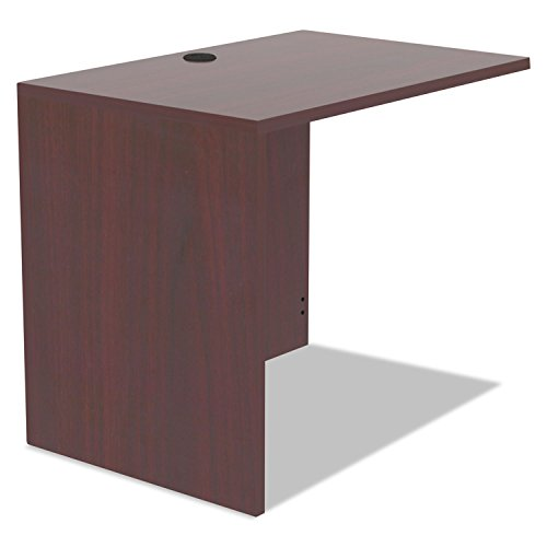 Alera VA353624MY Valencia Series Reversible Return/bridge Shell 35w X 23-5/8d Mahogany - Valencia Series Desk Shell