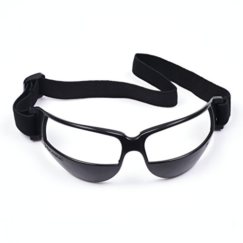 COSMOS Black Color Sports Soccer Basketball Dribble Goggles - With Player Basketball Goggles