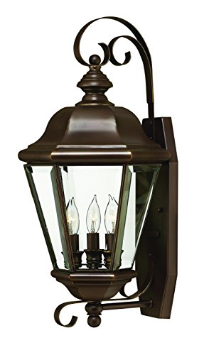 - Hinkley 2426CB Traditional Three Light Wall Mount from Clifton Park collection in Copperfinish,