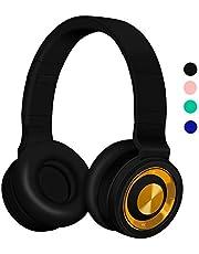 Auriculares Bluetooth 5.0 Inalámbricos con Micrófono, Funwaretech Auriculare con Cable Plegable Wireless Headphones con HiFi Sonido Estéreo y Bajos Profundos, Cascos Bluetooth para Móviles,PC