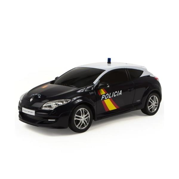 Mondo Toys - Renault Megane Policía Nacional Española, coche con radiocontrol 1:14 (63202) 4