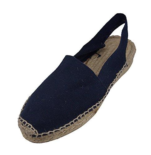 Lage Hak Sandalen Marineblauw