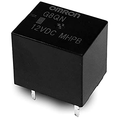 OMRON Ford Ford Fuel Pump relay R303 - 12V Replaces Omron Relay F8VF-BA: Industrial & Scientific