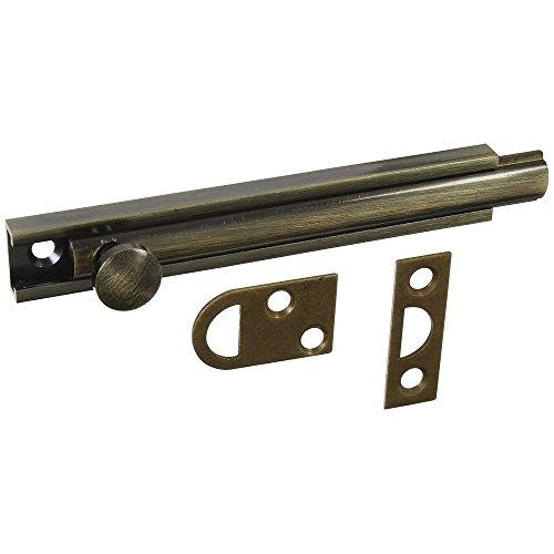 - National Hardware N336-222 MPB1922 Flush Bolt in Antique Bronze