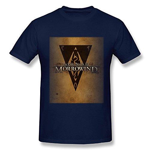 TEE-Men's The Elder Scrolls Game Short-sleeve Shirt.
