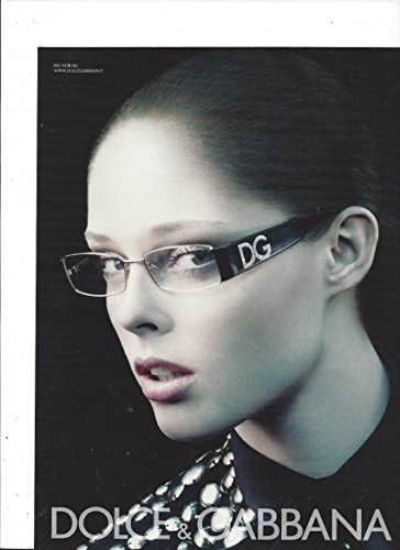 MAGAZINE AD For Dolce & Gabbana 2007 Sunglasses With Hillary - Hillary Sunglasses
