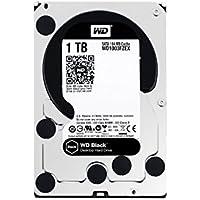 WD 1TB Black Performance Internal Hard Drive 7200 rpm SATA III 3.5 HDD