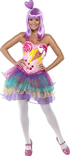 Smiffy's Candy Queen Costume, Multi, Medium