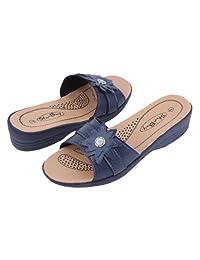 New Women's Slide Wedge Sandals / Sandales