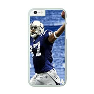 NFL Case Cover For Apple Iphone 5C White Cell Phone Case Indianapolis Colts QNXTWKHE0840 NFL Phone Case For Boys