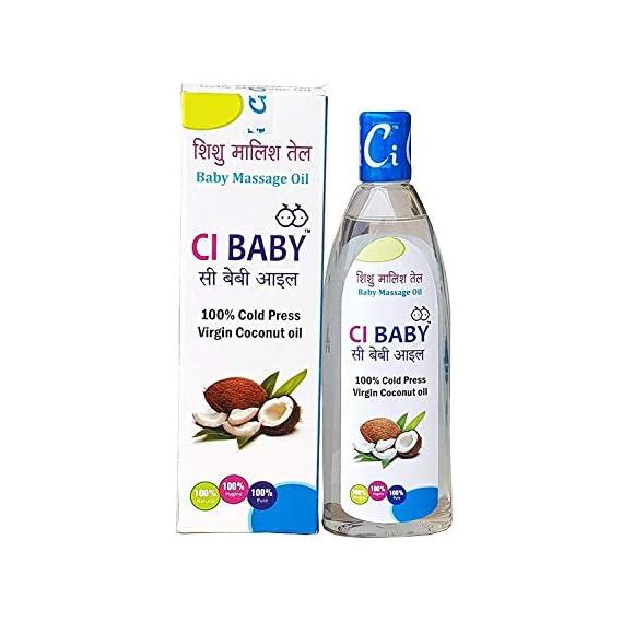 CI BABY Massage Oil 200 ml ( White)