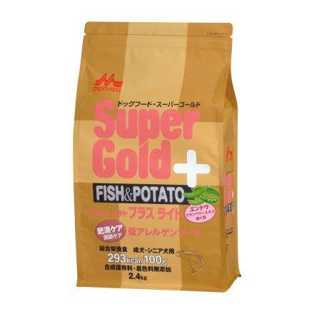 スーパーゴールド フィッシュ&ポテト プラスライト 肥満ケア用関節ケア用7.5kg B00VW85HHA