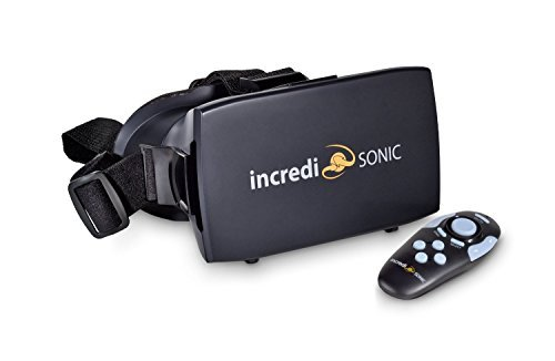 IncrediSonic VR Headset + Remote Control by IncrediSonic