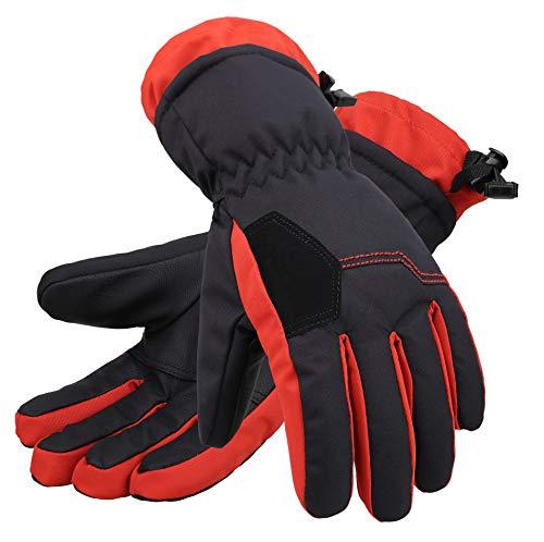 Halconia Kids Winter Waterproof Snow Ski Gloves w/Thinsulate Lined