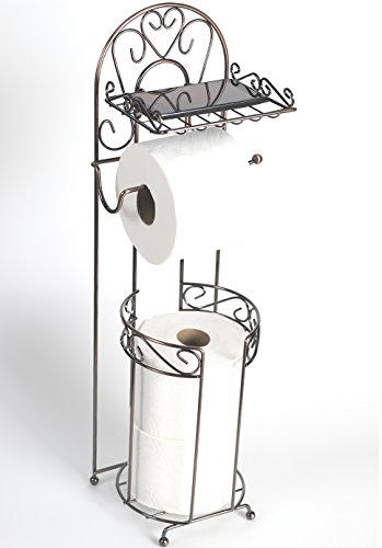 freestanding-toilet-paper-holder-with-phone-shelf-for-bathroom-by-mclee-creations-stainless-steel-co