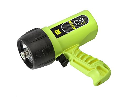 Underwater Kinetics Yellow Underwater Dive Light (Underwater Kinetics UK Sunlight C8 LED L2 Dive, Light Yellow)