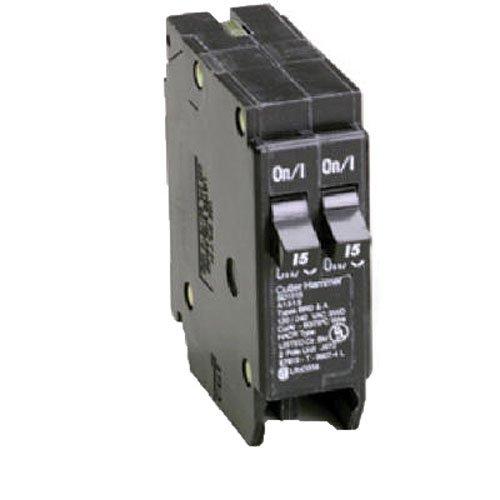 - Eaton Corporation Br2020 Single Pole Tandem Circuit Breaker, 120V, 2-20-Amp