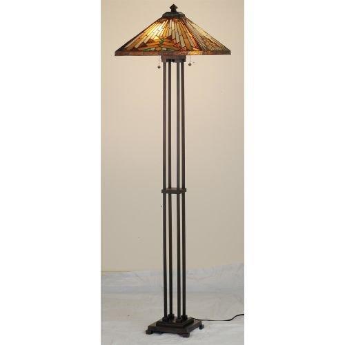 Meyda Tiffany Mission Floor Lamp (Meyda Tiffany 66228 Nuevo Mission Floor Lamp, 63